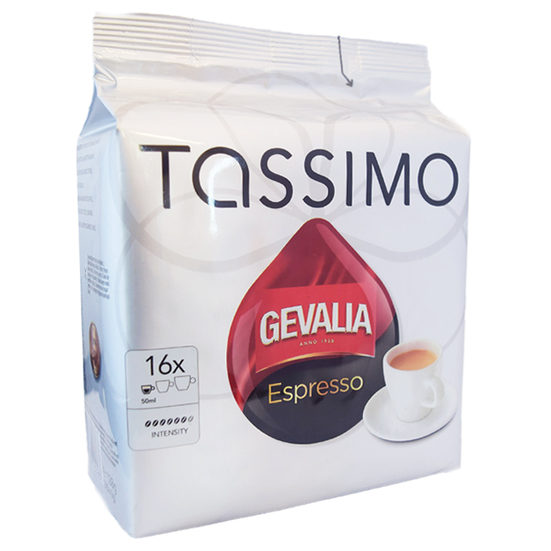 """Kaffekapslar """"Tassimo"""" Espresso - 74% rabatt"""