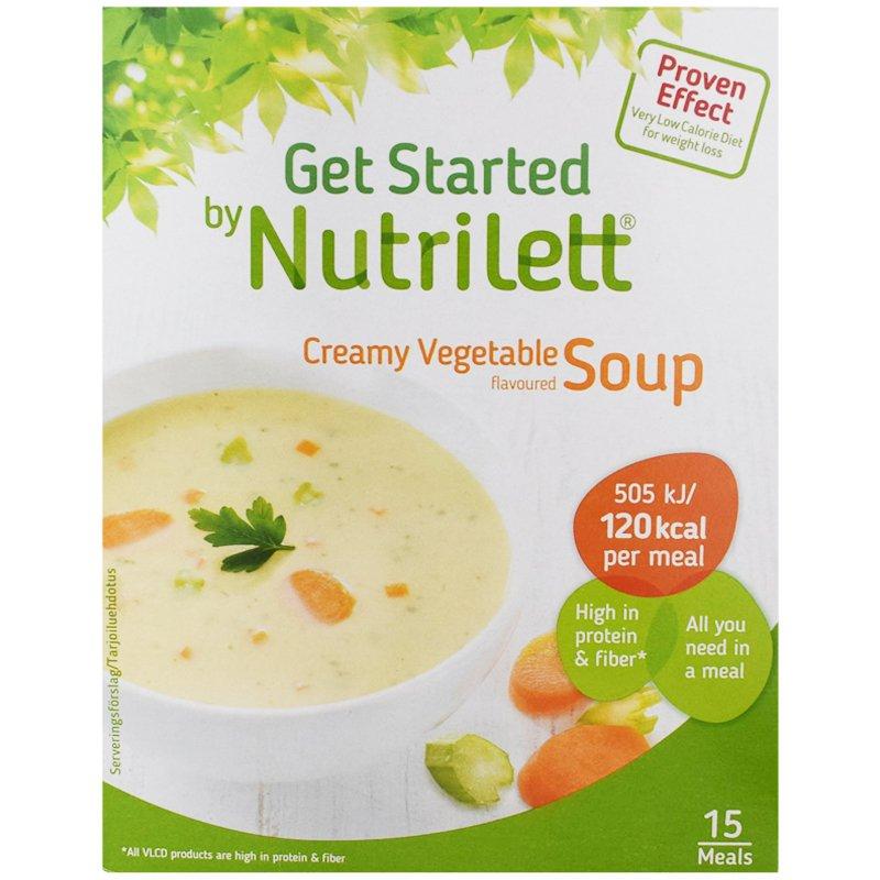 "Ateriankorvike ""Creamy Vegetable Soup"" 15 x 33g - 38% alennus"