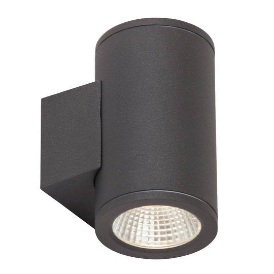 Kaksilamppuinen LED-ulkoseinävalaisin Argo