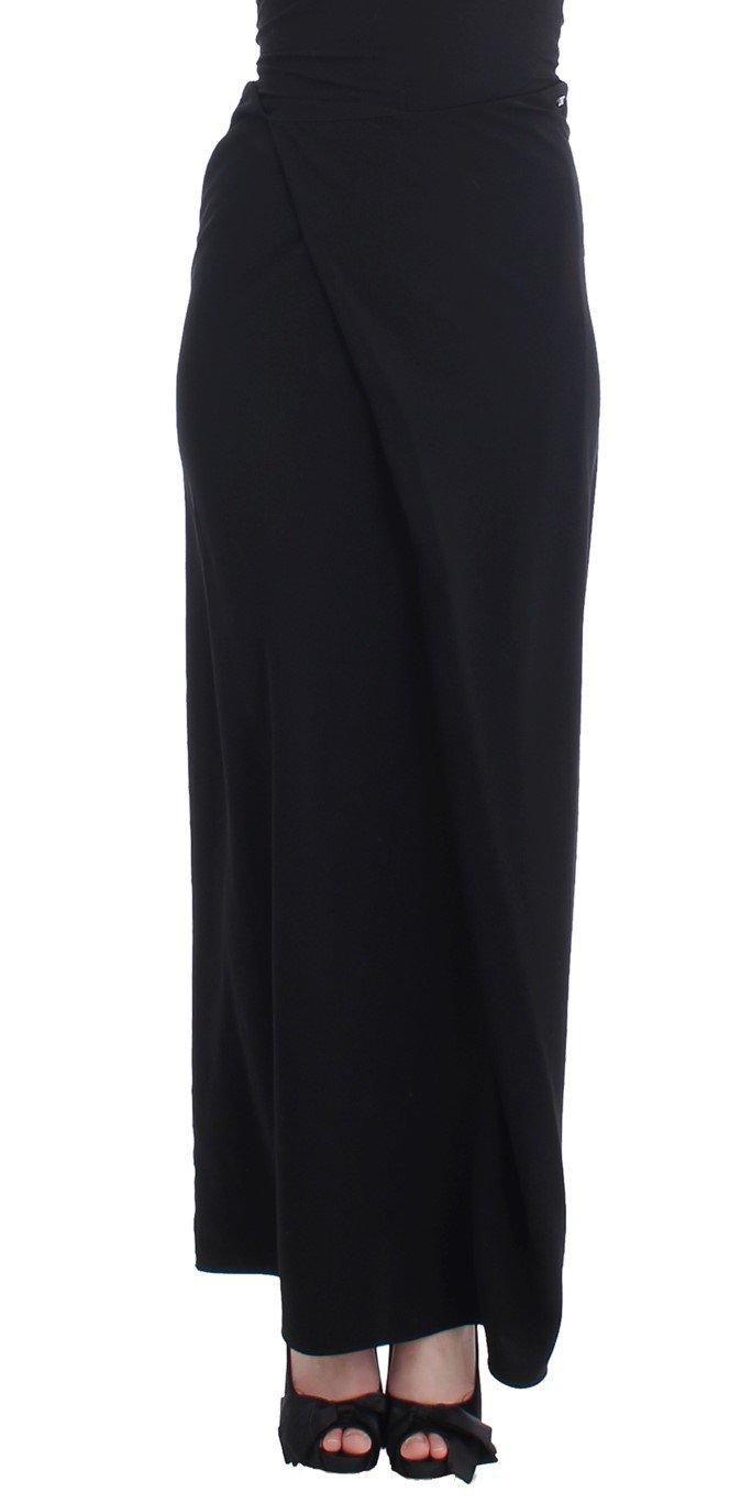 Costume National Women's Full Length Skirt Black SIG11644 - IT40|S