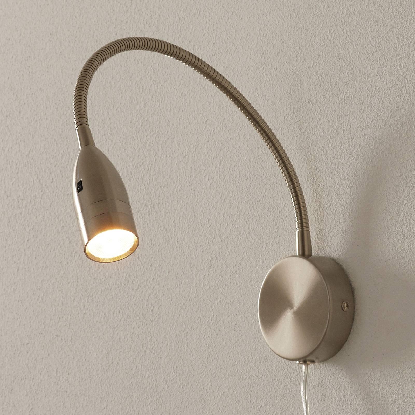 LED-seinävalaisin Sten eleohjauksella, pyöreä