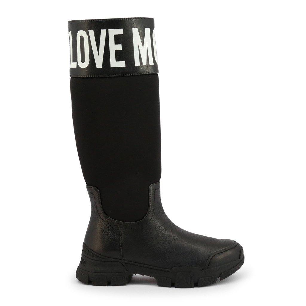 Love Moschino Women's Boot Black JA15594G0BJB - black EU 36