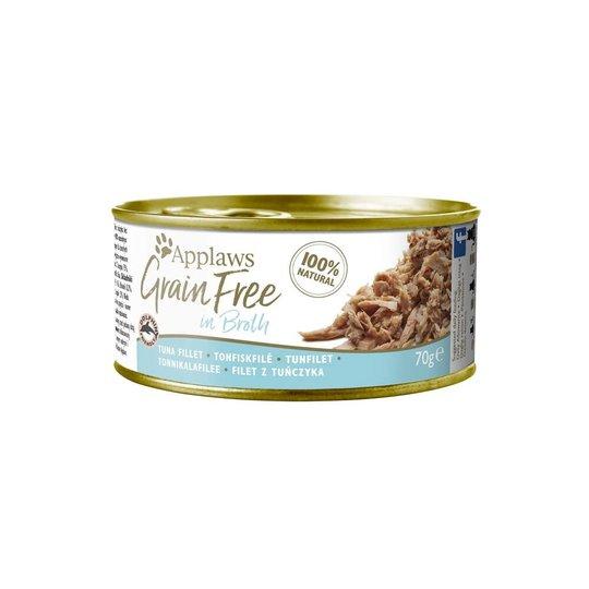 Applaws Cat Grain Free Tuna Fillet in Fish Broth 70 g
