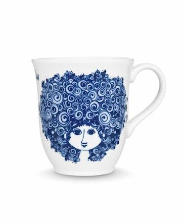 Rosalinde Mugg blå 35 cl