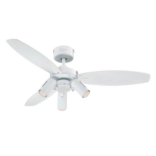 Westinghouse Jet Plus tuuletin valolla 3-lampp.