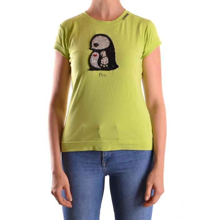 Pinko Women's T-Shirt Green 160930 - green L