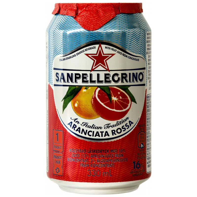"Dryck ""Aranciata Rossa"" 330ml - 29% rabatt"