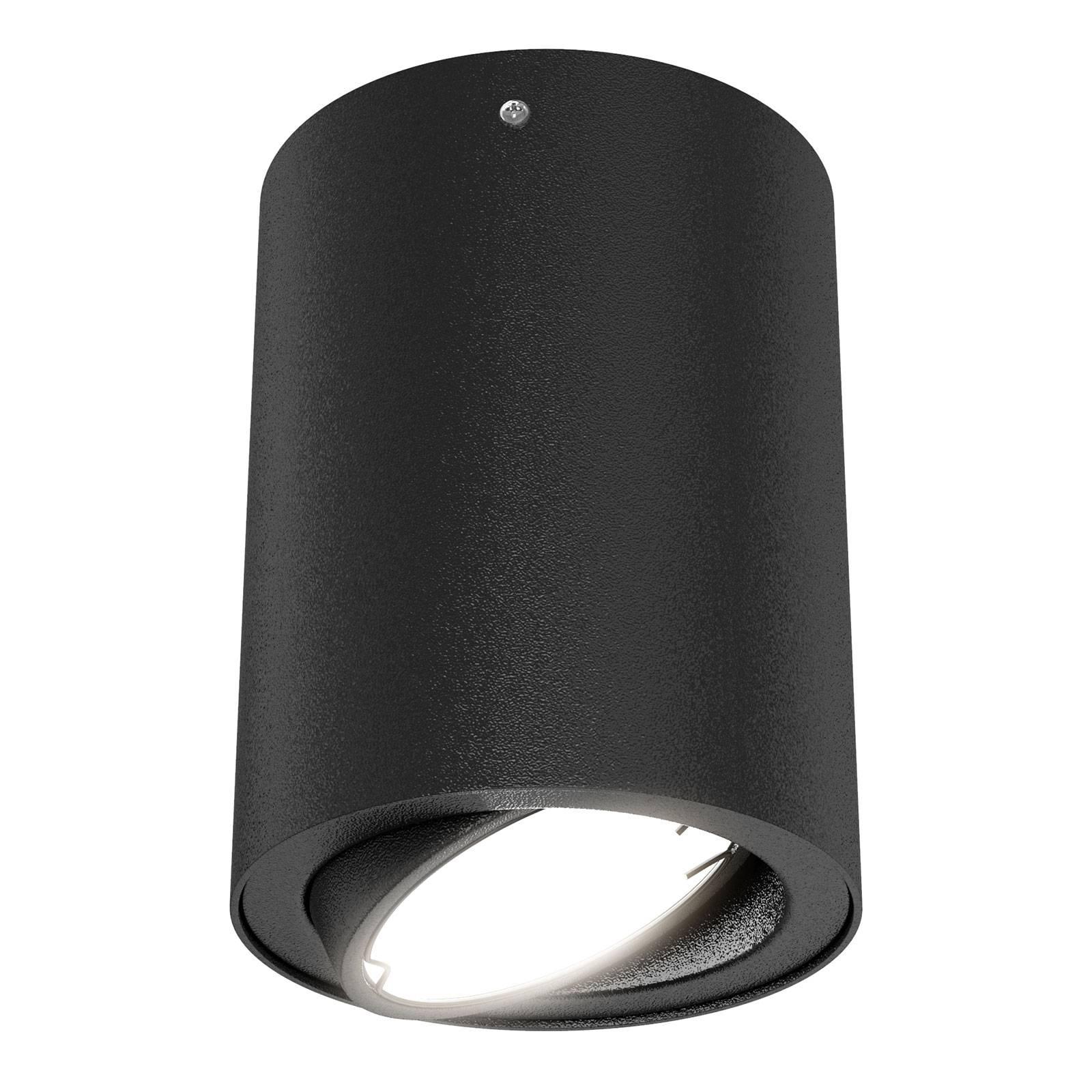 LED-kattovalaisin 7119, GU10, musta