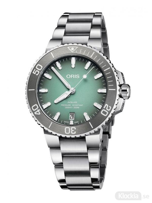 ORIS Aquis Date 39.5mm 733-7732-4137-07-8-21-05PEB - Unisexklocka