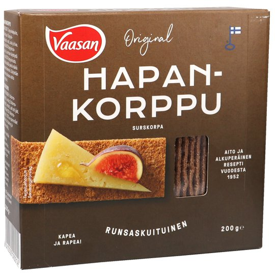 Finncrisp Hapankorput - 12% alennus