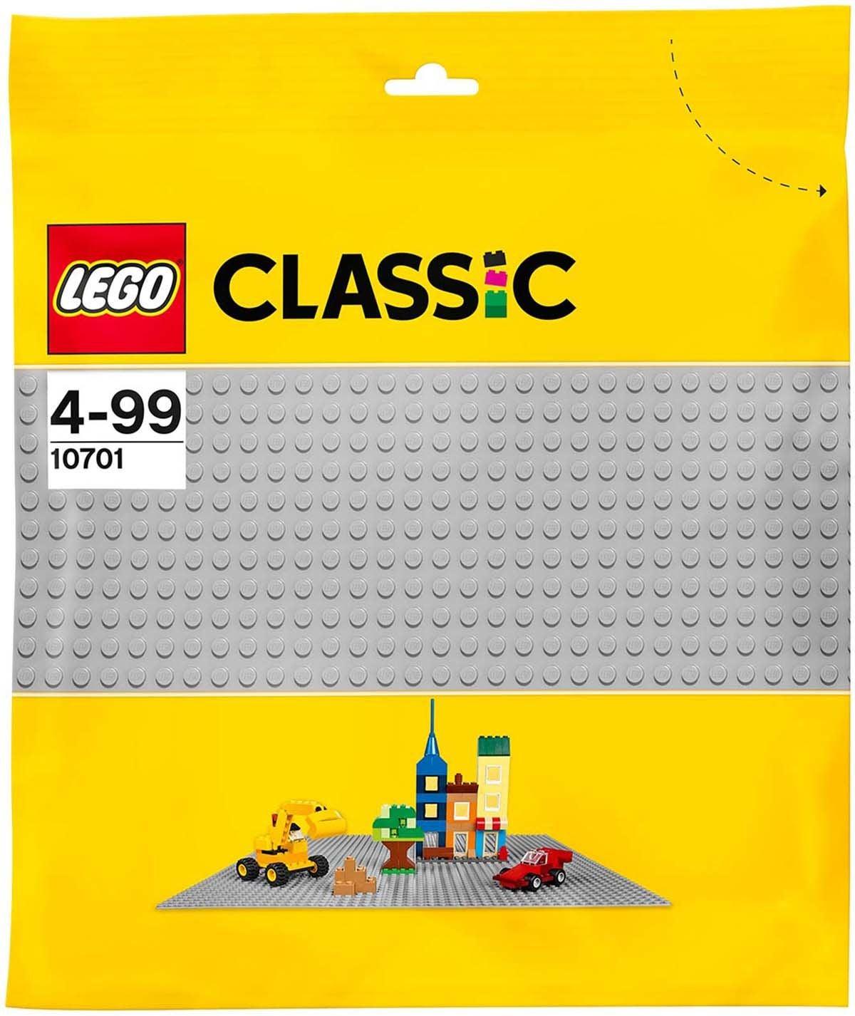 10701 LEGO Classic, Harmaa Aluslevy