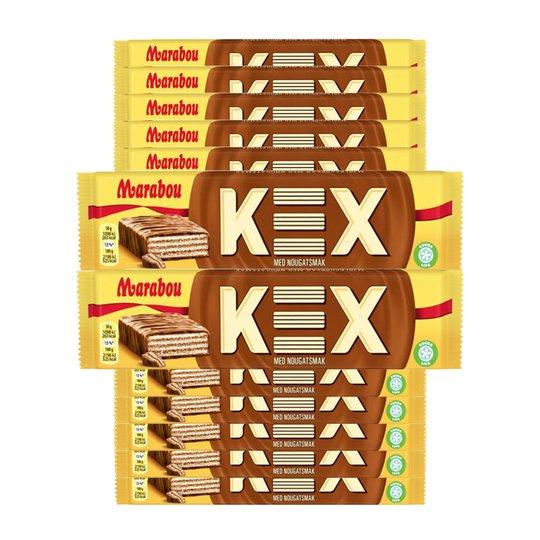 Kex Nougat & Choklad 15-pack - 56% rabatt