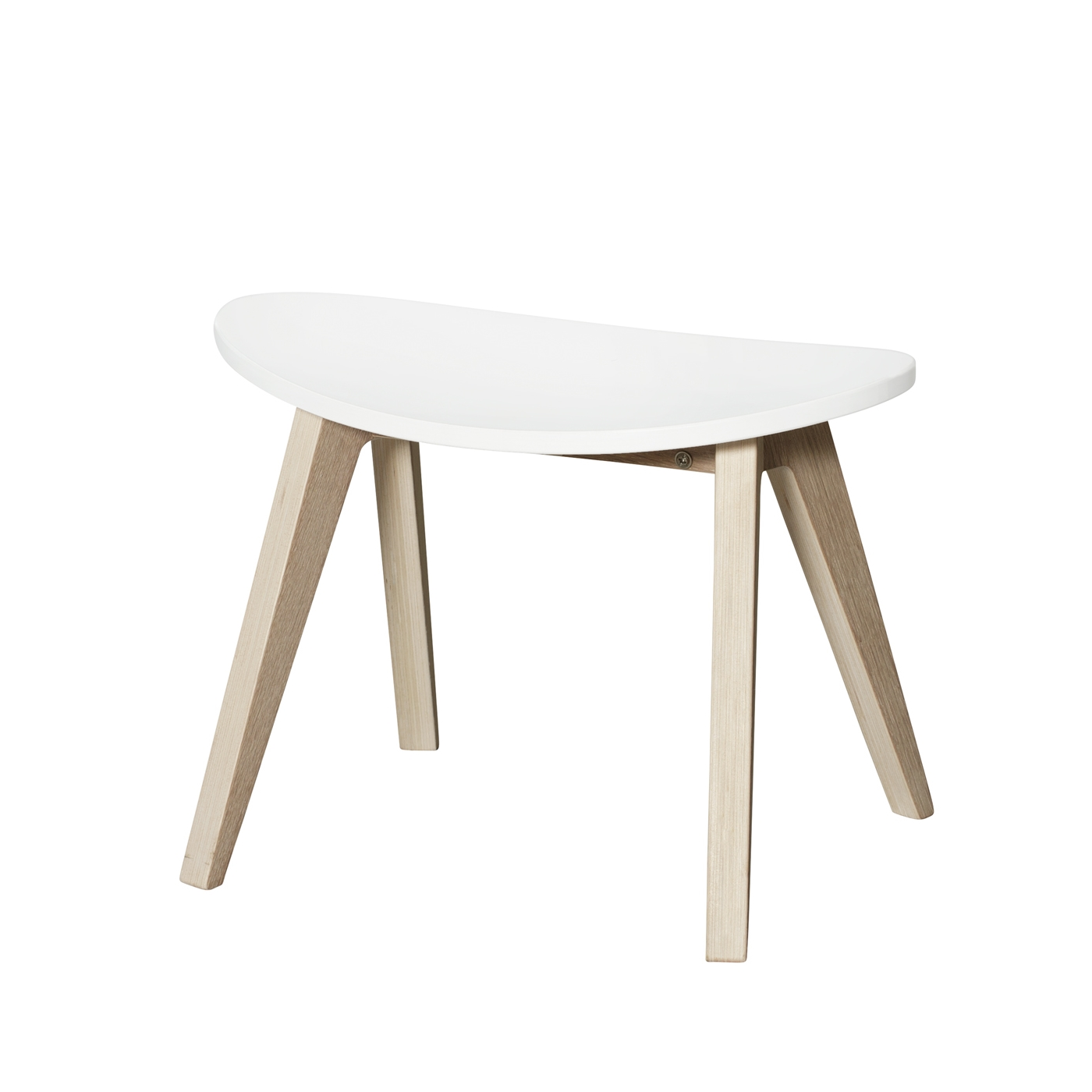 Pall PingPong Wood collection vit sits, Oliver Furniture