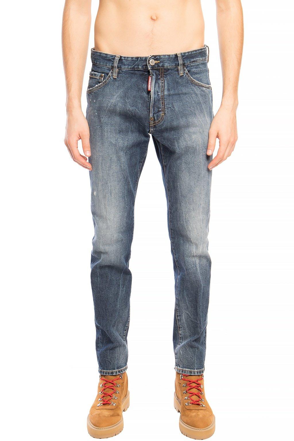 Dsquared² Men's Jeans Blue DS1432869 - IT46   S