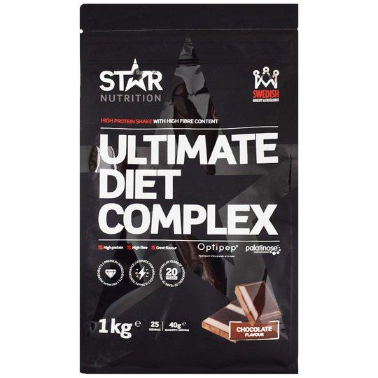 "Proteiinijauhe ""Ultimate Diet Complex Chocolate"" 1kg - 0% alennus"