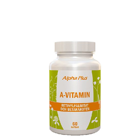A-vitamin, 60 kapslar