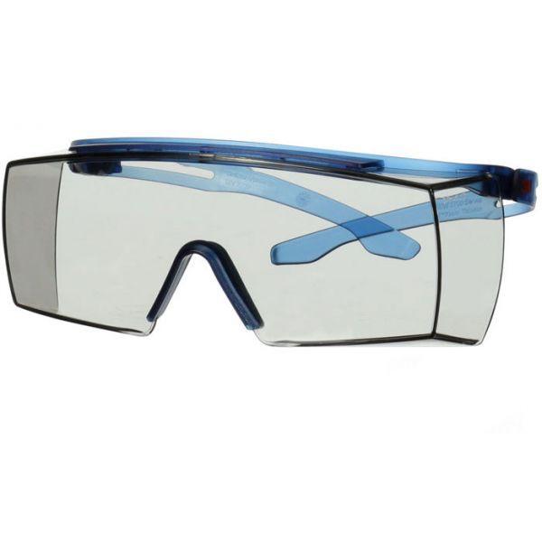3M Secure fit 3700 Vernebriller Blå brillestang, lysegrå linse