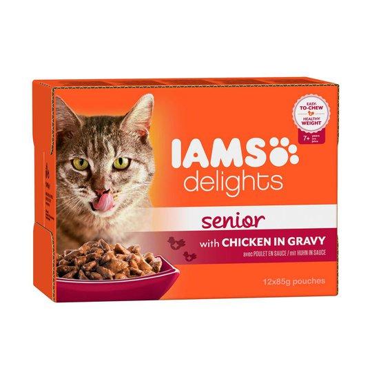 Iams Delights in gravy Multipack Senior