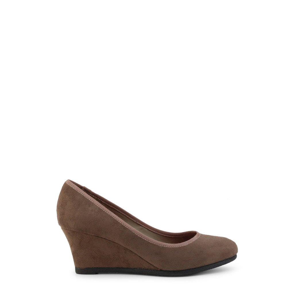 Roccobarocco Women's Heel Brown RBSC1JH01 - brown EU 36