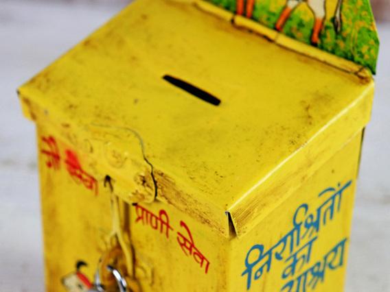 Yellow Money Box