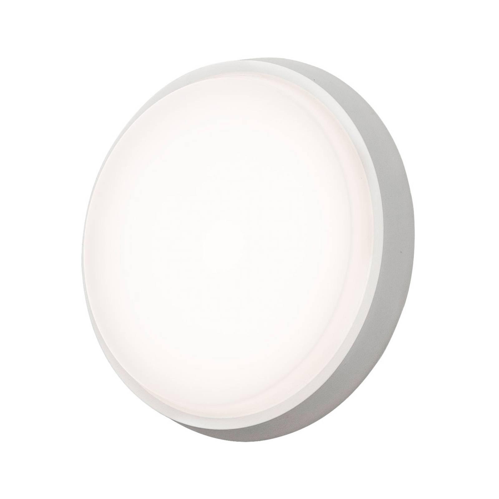 LED-ulkoseinälamppu Cesena, pyöreä