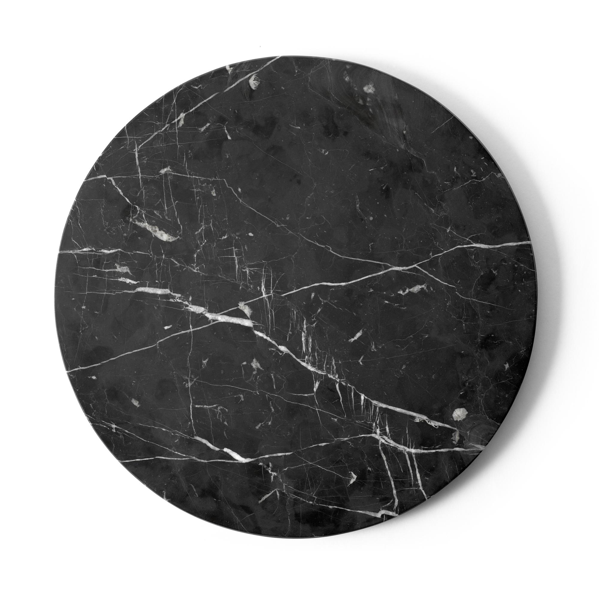 Menu Bordsskiva Androgyne svart marmor