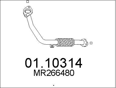 Pakoputki MTS 01.10314