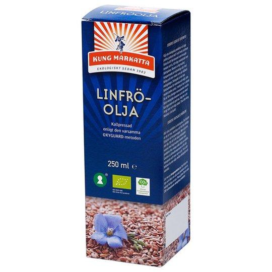 Kung Markatta Ekologisk Linfröolja Kallpressad, 250 ml