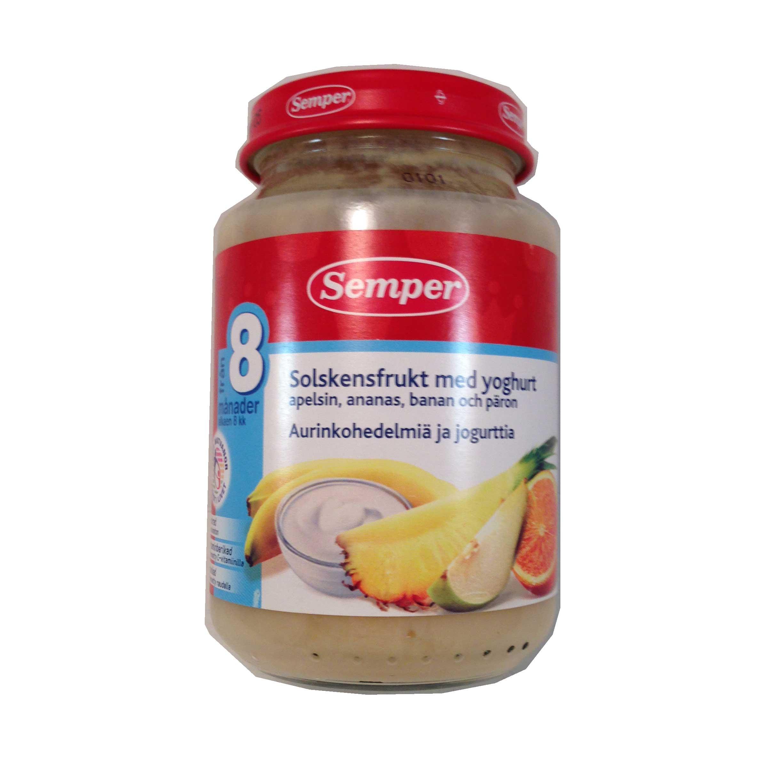 Yoghurt- & solskensfruktspurée - 36% rabatt