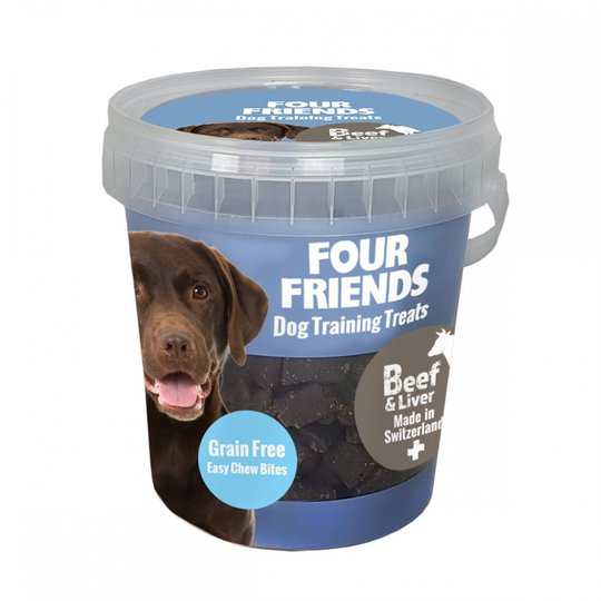 FourFriends Dog Training Treats Grain Free Beef & Liver 400 g