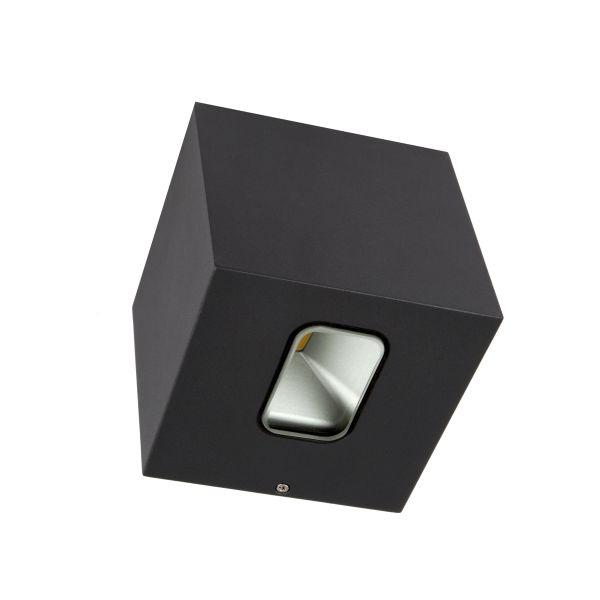 Hide-a-Lite Cube Veggarmatur 3000 K Antrasitt