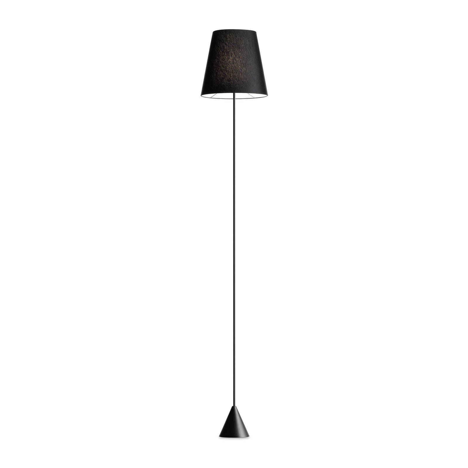 Modo Luce Lucilla gulvlampe Ø 24 cm svart