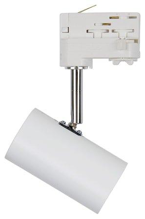 Tyson Takspot Matthvit 3–fase LED GU10 Ekskl. lyspære