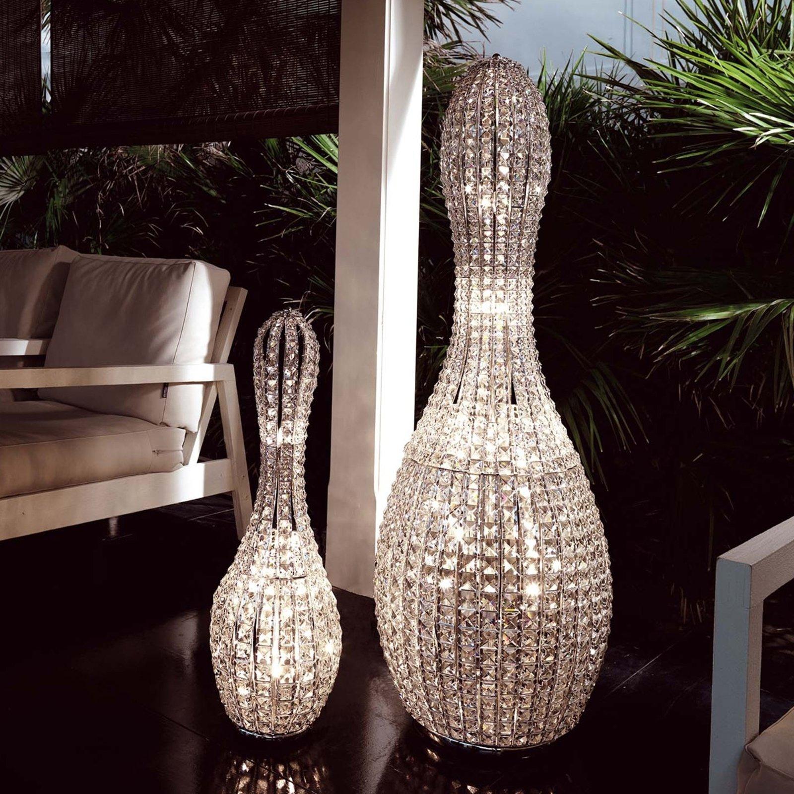 Eksklusiv krystallampe Brillo