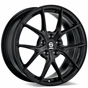 Sparco Podio Gloss Black 7.5x17 5/108 ET45 B73