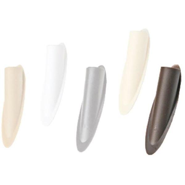 Kreg CAP-WHT-50 Plastplugg 9 mm, hvit 50-pakning Hvit