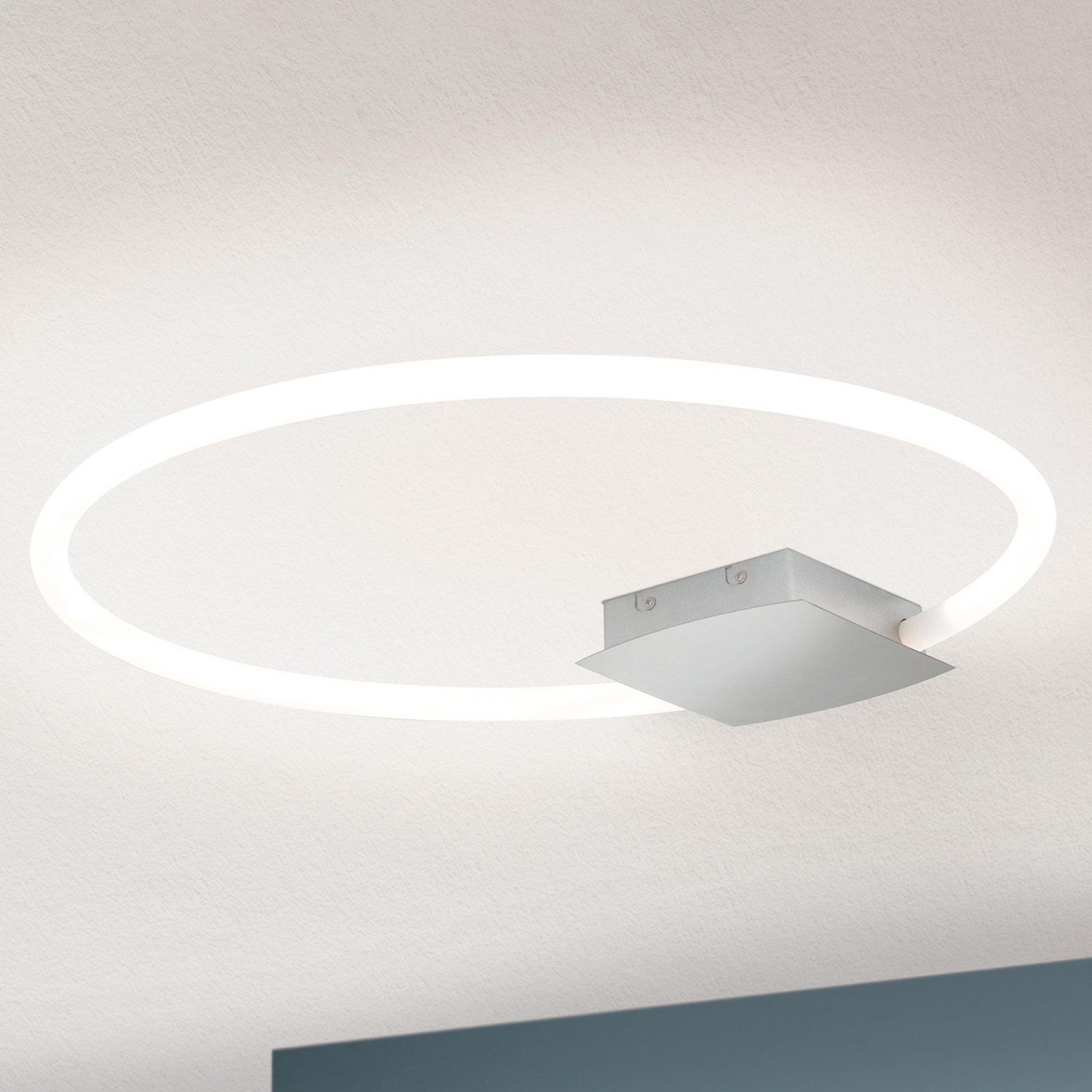LED-taklampe Karlsson i ringform, 60 cm