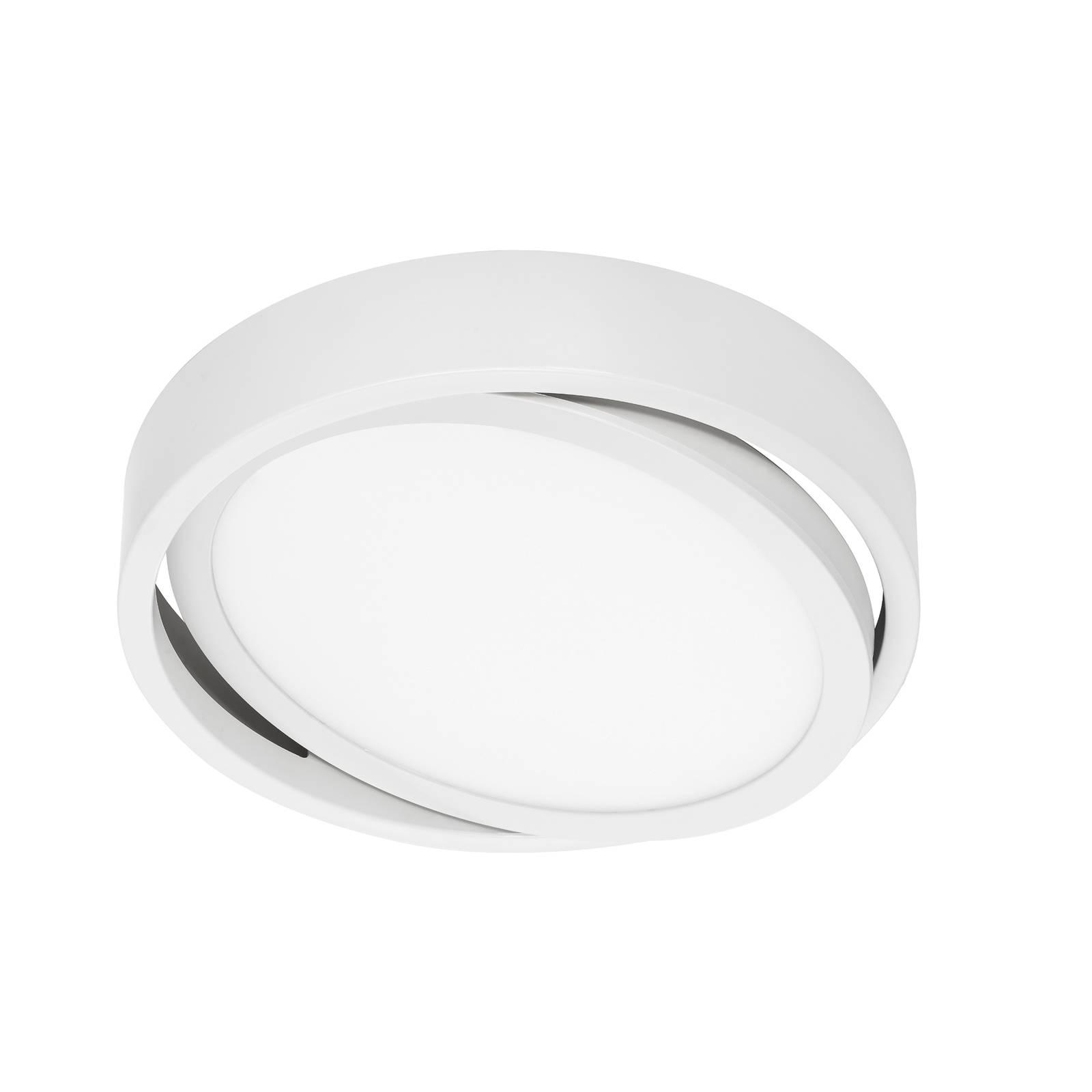 Prios Uvan -LED-kattovalo, pyöreä, valkoinen