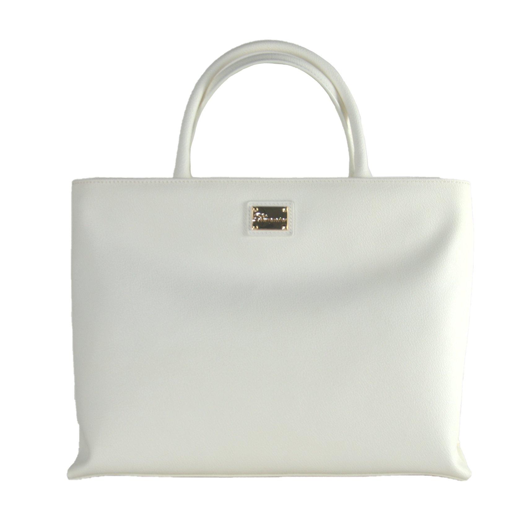 Blumarine Women's Handbag White 18b.42g_010