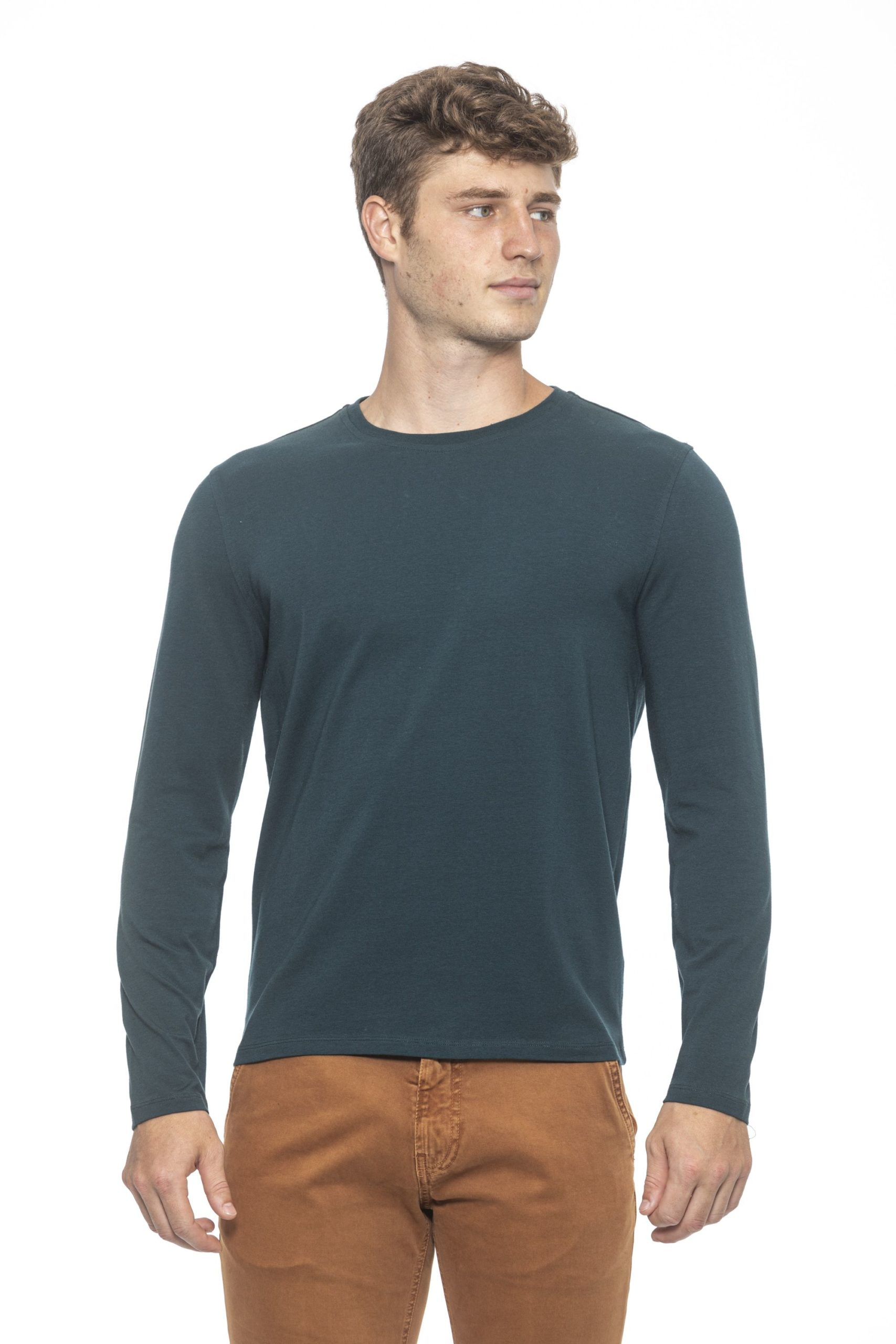 Alpha Studio Men's Bottiglia Sweater Green AL1314480 - IT50 | L