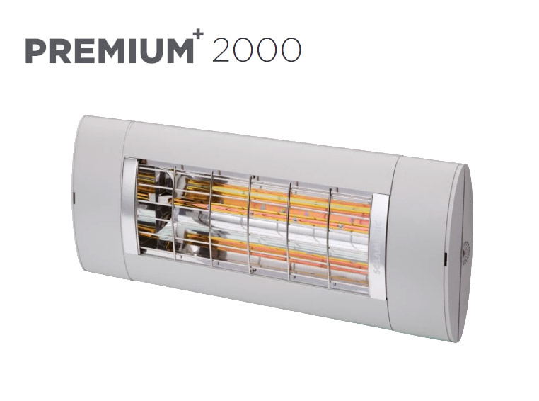 Solamagic - 2000 Premium+ -Patio Heater - Titanium - 5 Years Warranty
