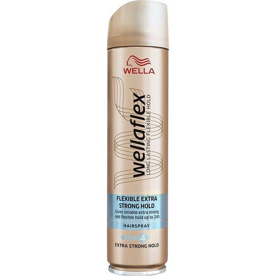 WellaFlex Hairspray Extra Strong Hold, 250 ml Wella Styling Muotoilutuotteet
