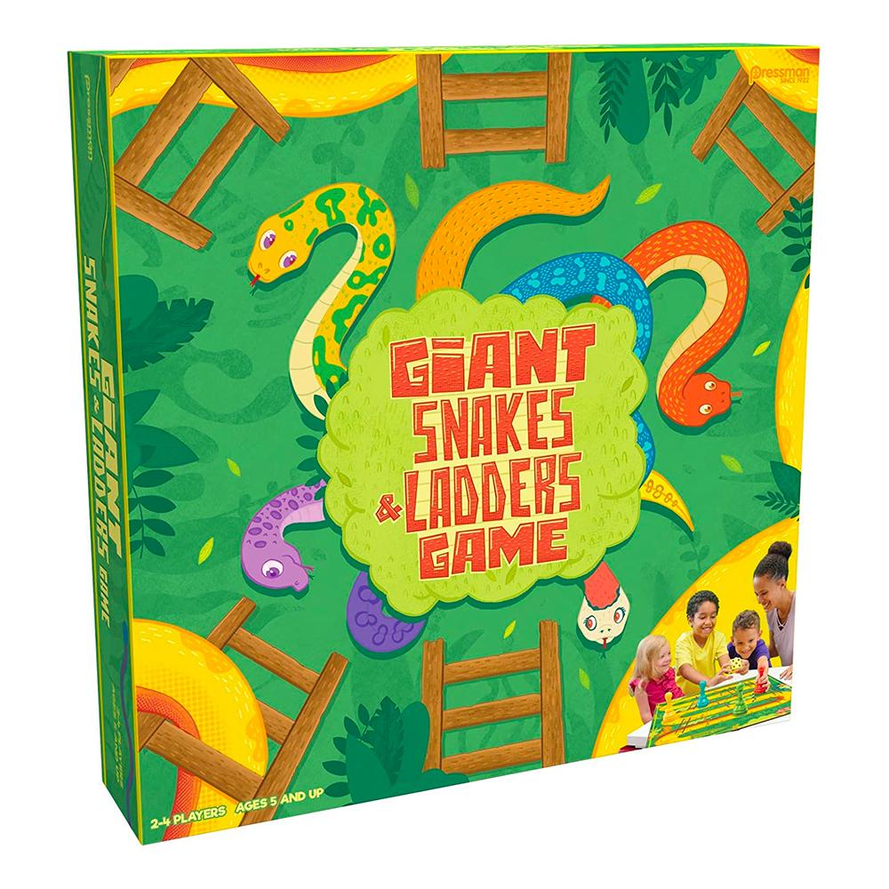 Giant Snakes & Ladders Barnspel