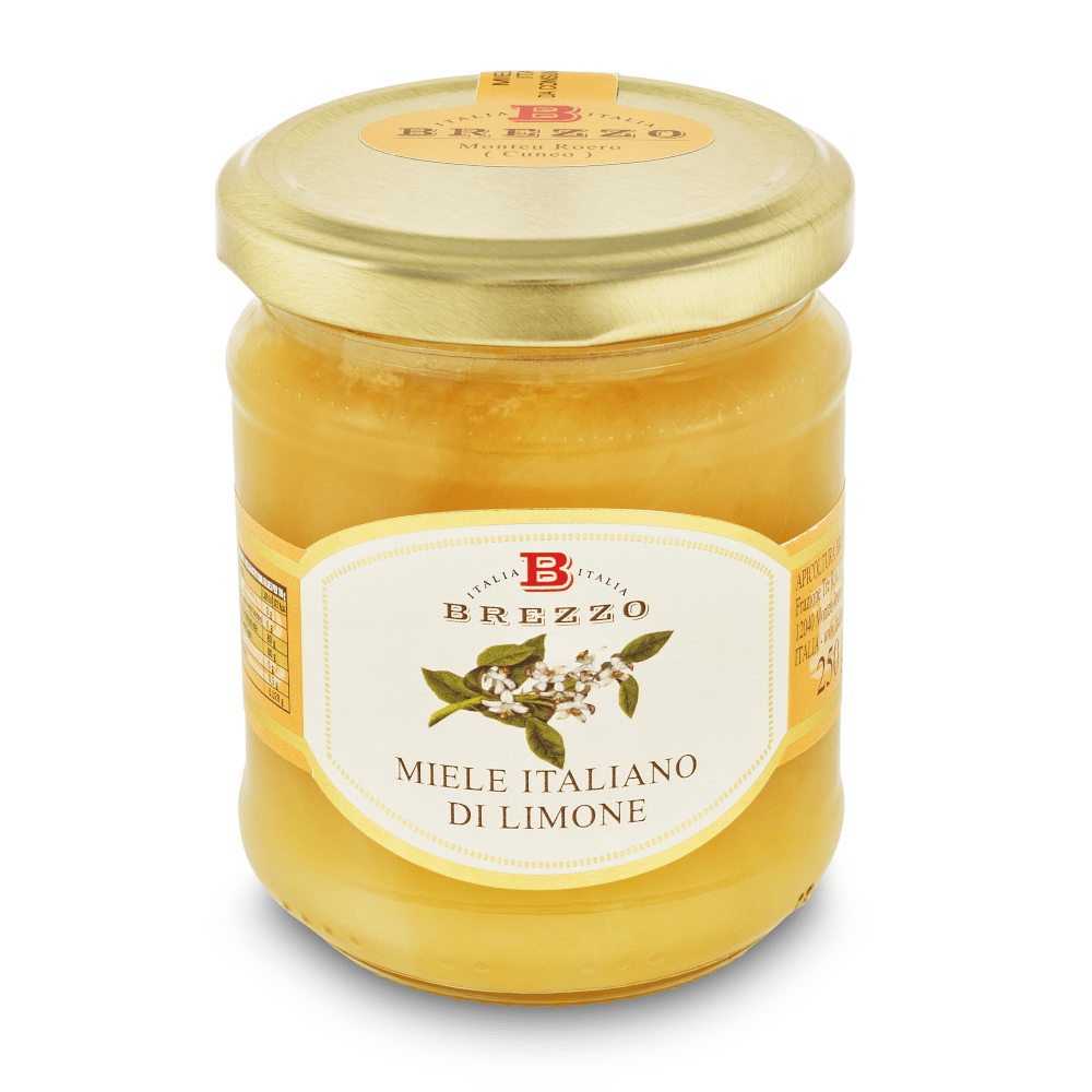 Lemon Honey 250g by Brezzo