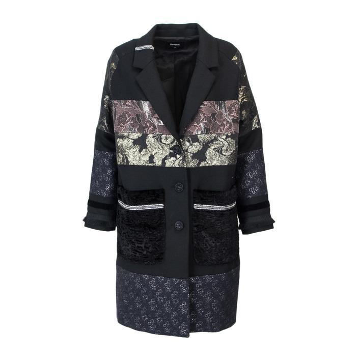 Desigual Women's Coat Black 165109 - black 38