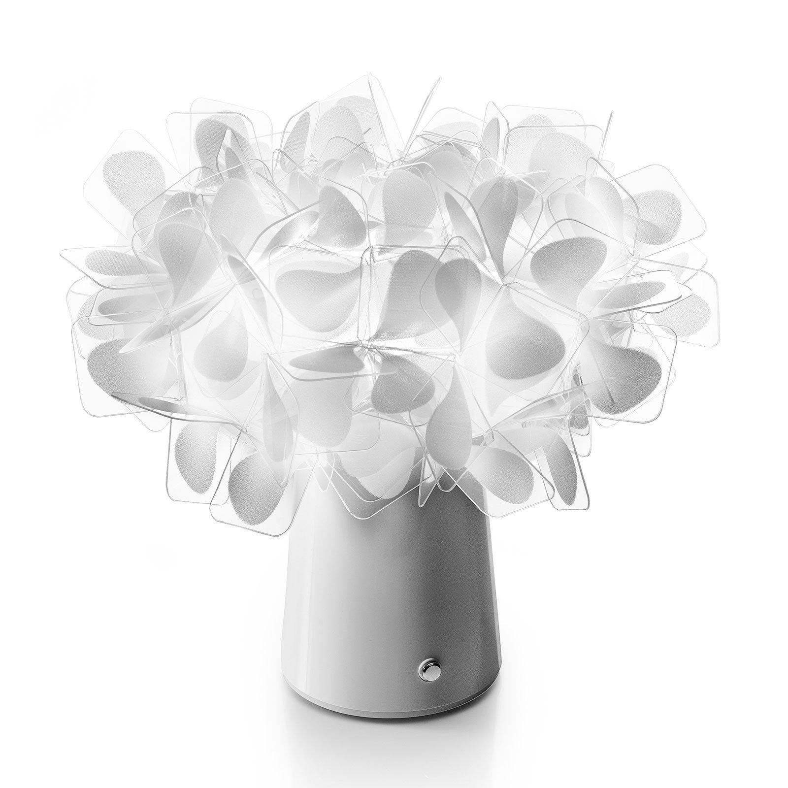 Slamp Clizia LED-bordlampe batteri mama non mama