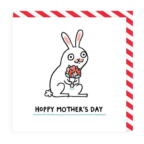 Hoppy Mother's Day Card