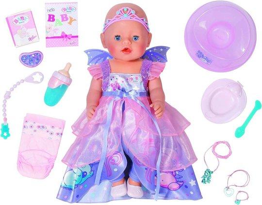 Baby Born Soft Touch Dukke Wonderland Fairy Med Tilbehør