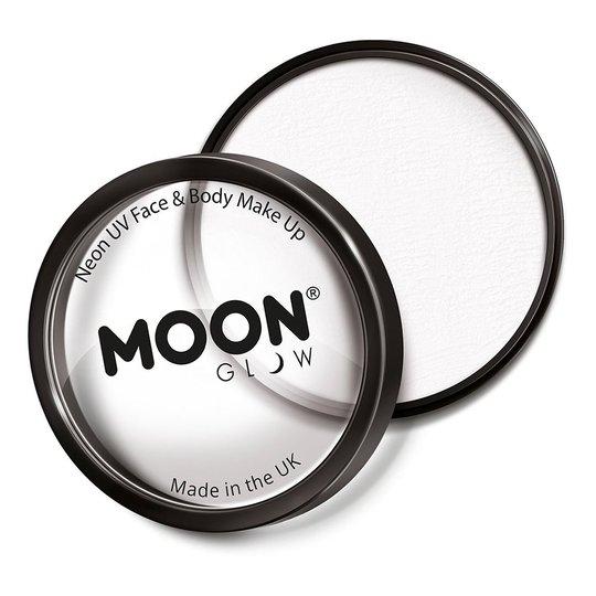 Moon Creations Pro UV Neon Ansikts- & Kroppsfärg - Vit
