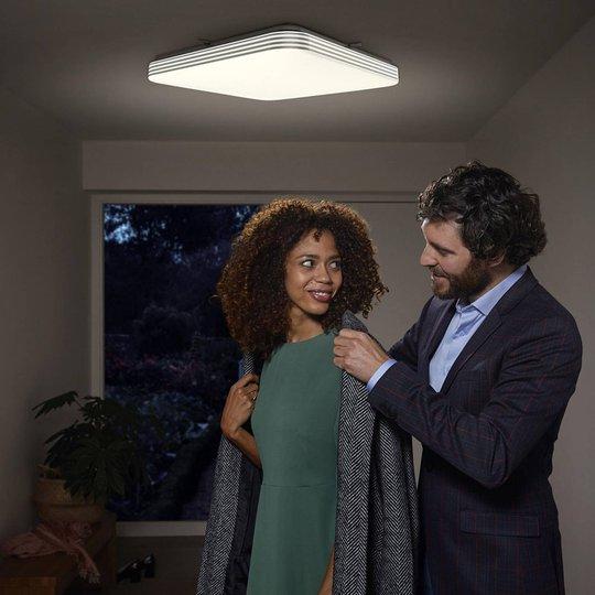 Ledvance Orbis Sensor LED-taklampe kantet 43 cm